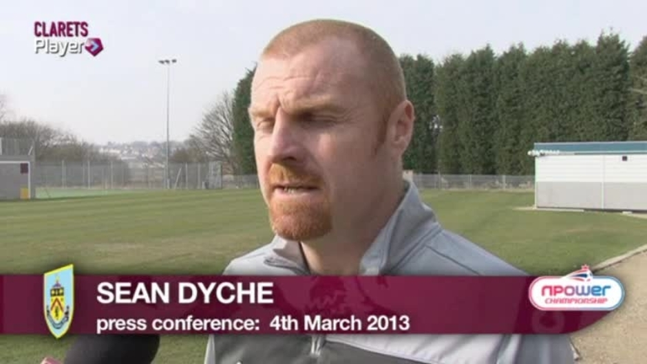 Click here to watch the PLAYER: Dyche Barnsley Preview video