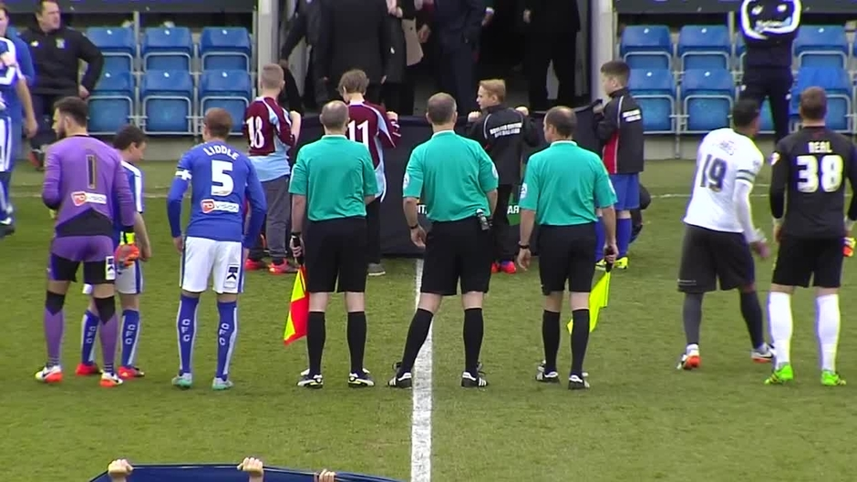 Click here to watch the Chesterfield v Bury highlights video