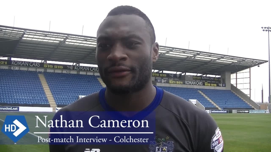 Click here to watch the Nathan Cameron on the Colchester United Win video