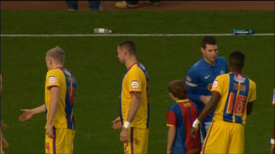 Click here to watch the Peterborough 1 Crystal Palace 2 video