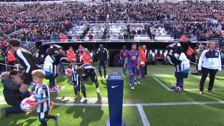 Click here to watch the Newcastle v Crystal Palace highlights video