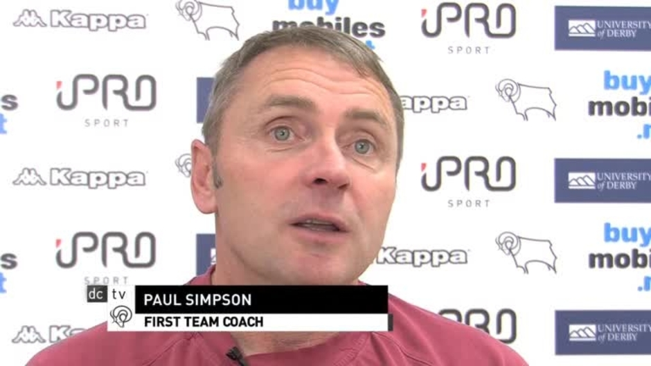 Click here to watch the Rams Player: Paul Simpson Catch-Up video