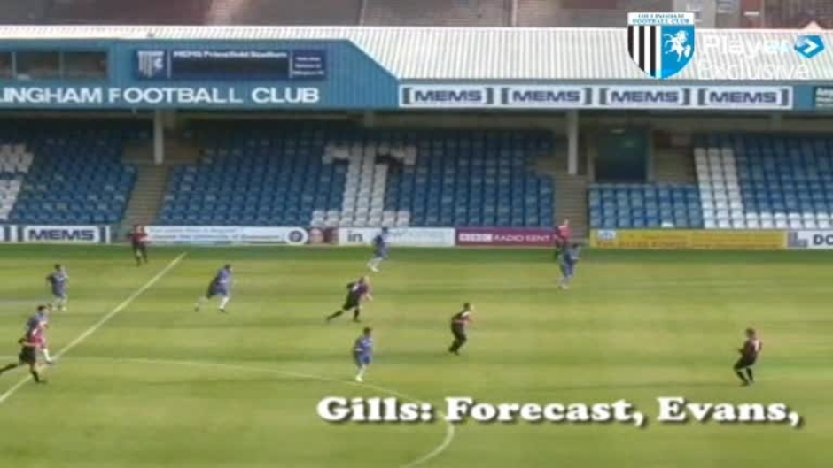 Click here to watch the GILLS V ROYAL ENGINEERS HIGHLIGHTS video