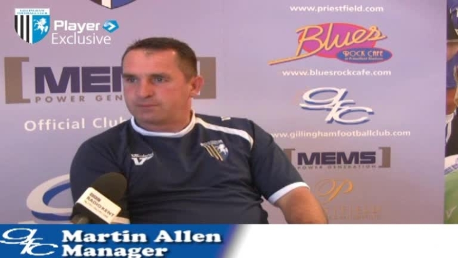 Click here to watch the ALLEN PRESS CONFERENCE video