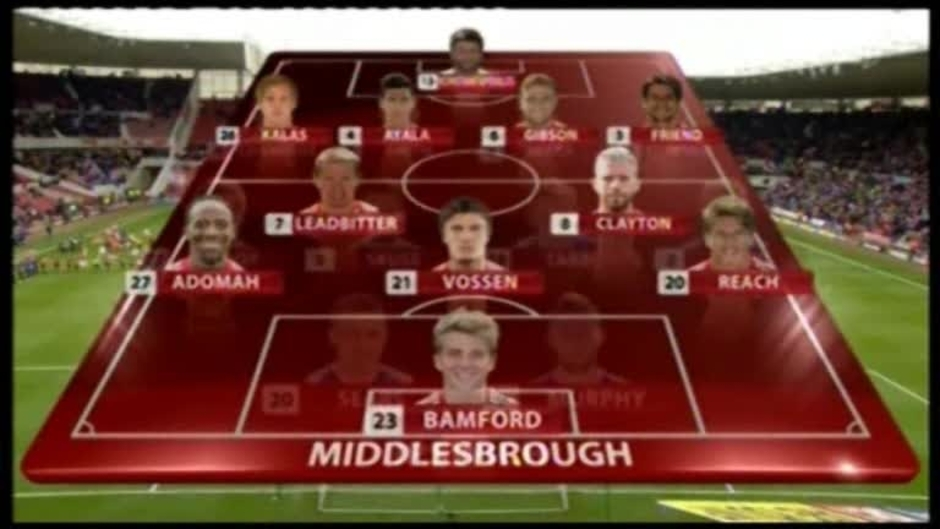 Click here to watch the ACTION REPLAY: MIDDLESBROUGH video