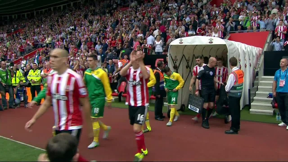 Click here to watch the Southampton v Norwich highlights video