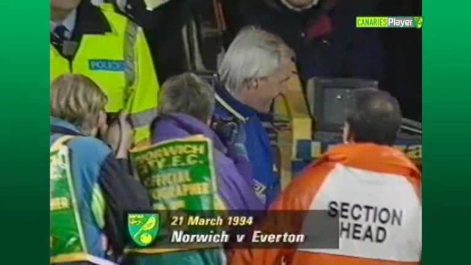 Click here to watch the CANARY CLASSICS - EVERTON 1994 video