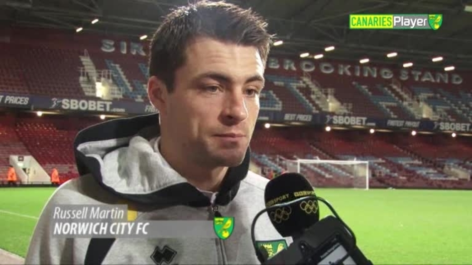 Click here to watch the RUSS MARTIN FRUSTRATED BY DEFEAT video