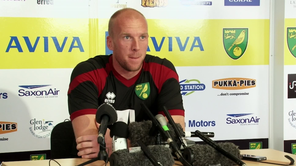 Click here to watch the FULL PRESS CONFERENCE: John Ruddy video