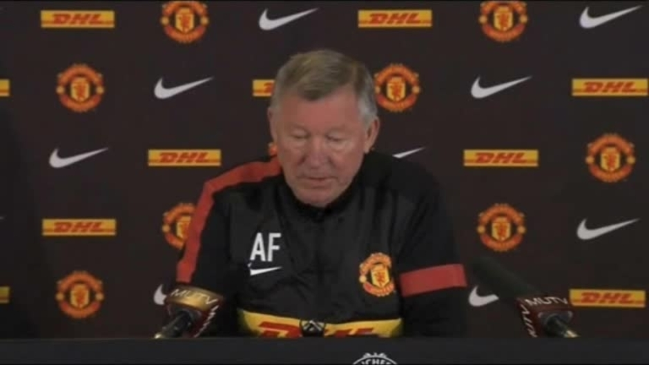 Click here to watch the Sir Alex's press conference video