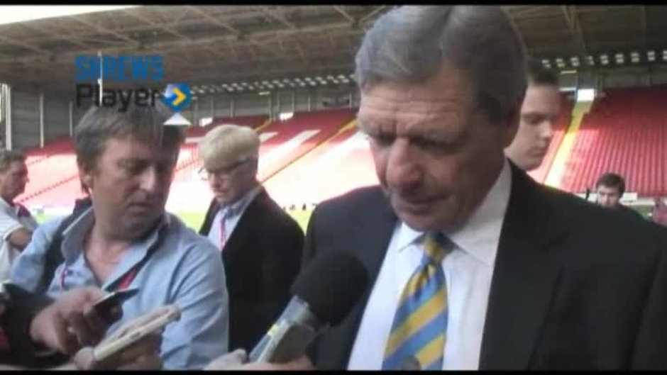 Click here to watch the Graham Turner Post Sheffield United Away 12/13 video