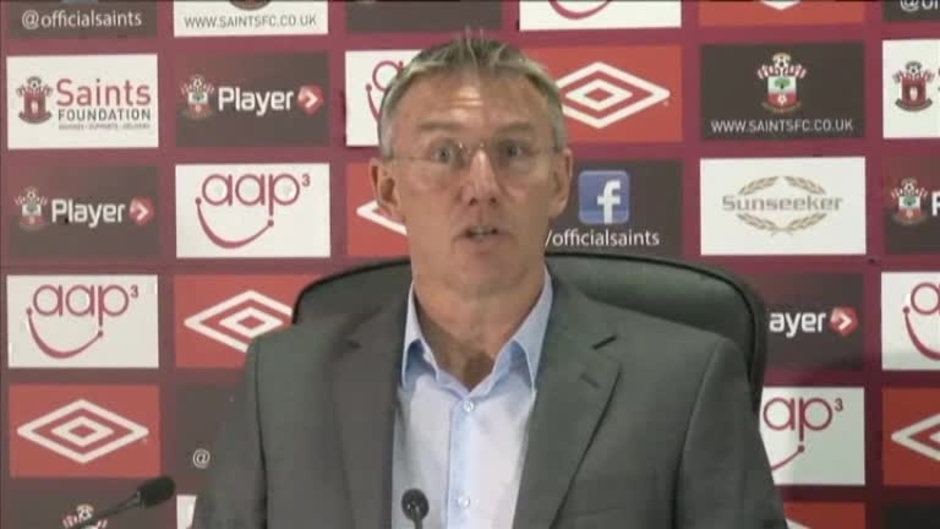 Click here to watch the Adkins' Pre-Aston Villa Press Conference video