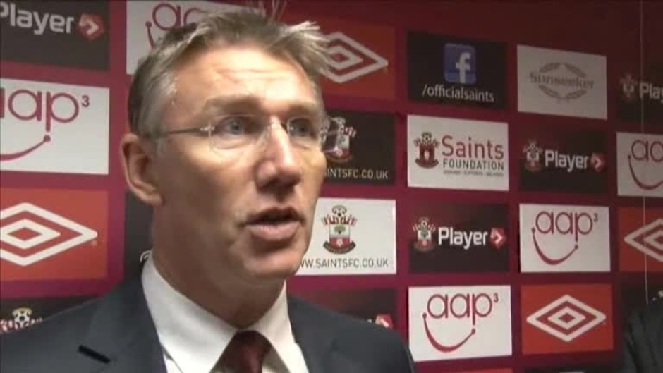 Click here to watch the Manager Pleased With Saints' Progress video