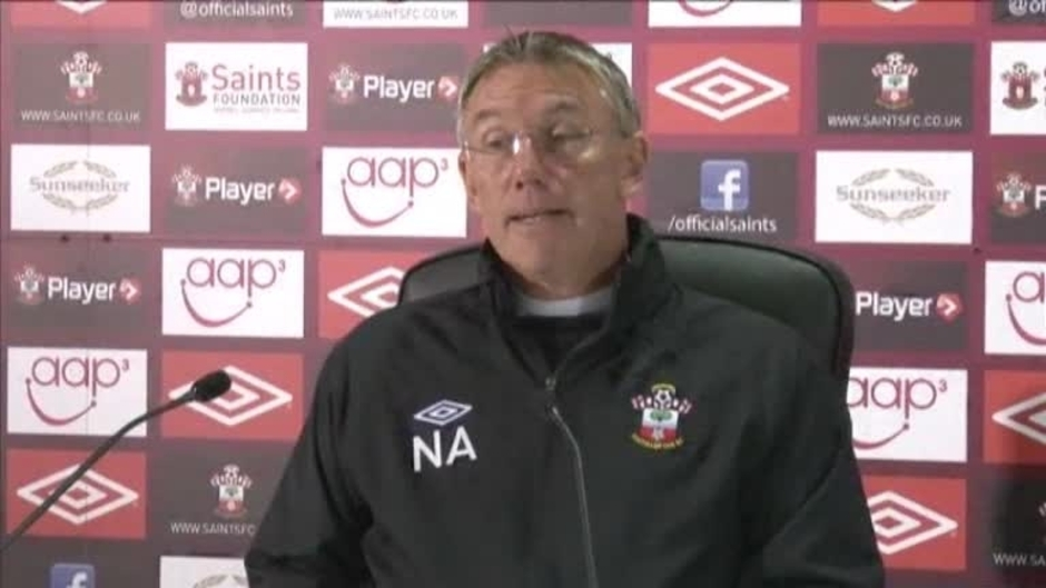 Click here to watch the Adkins' Pre-Liverpool Press Conference video