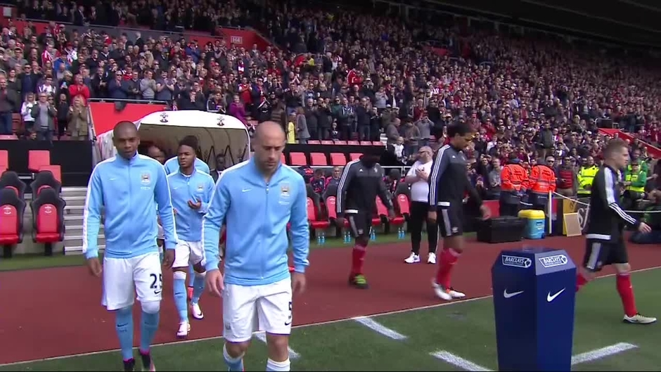 Click here to watch the Southampton v Man City highlights video