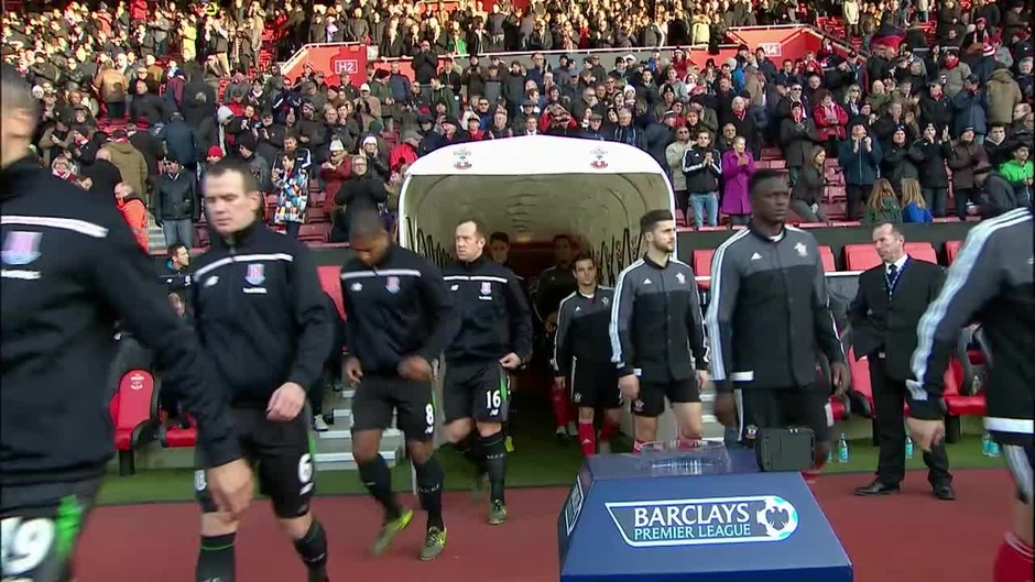 Click here to watch the Southampton v Stoke highlights video