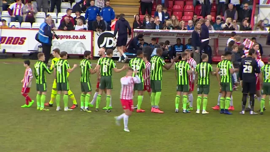 Click here to watch the EXTENDED HD HIGHLIGHTS: Stevenage 0-0 AFC Wimbledon video