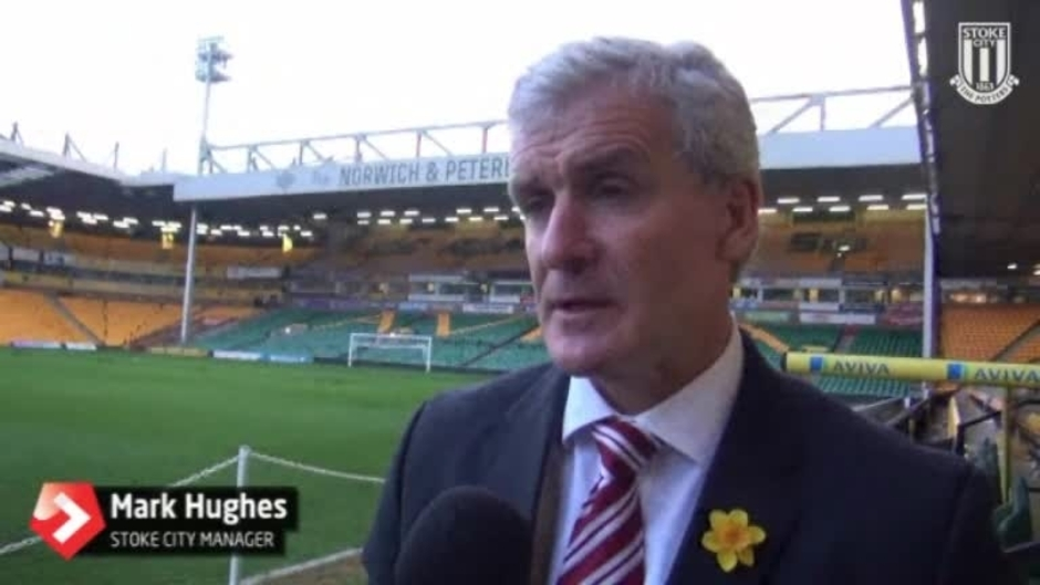Click here to watch the Hughes On Norwich Draw video