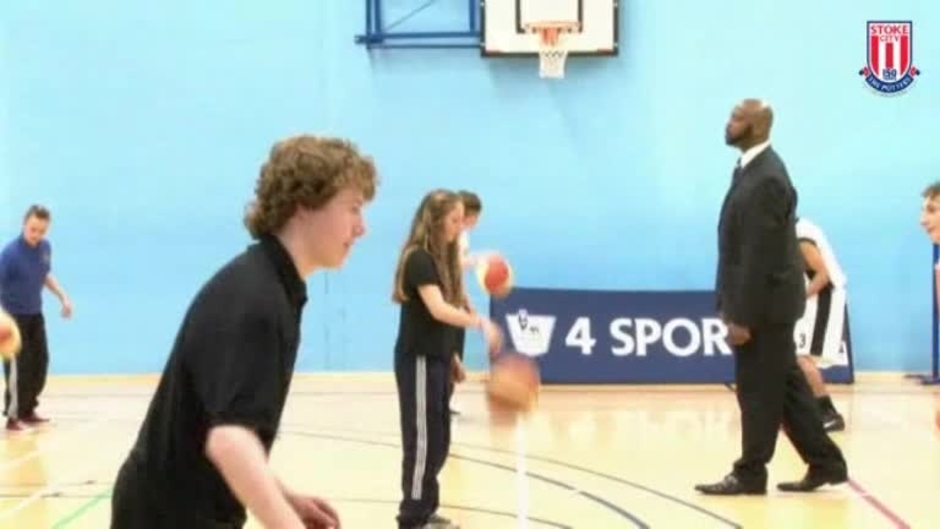 Click here to watch the Shooting Hoops With Kenwyne video