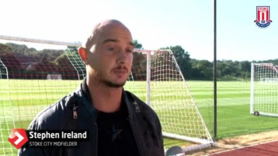 Click here to watch the Stephen Ireland Exclusive video