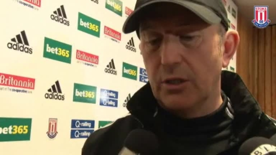 Click here to watch the Players Must Remain Confident - Pulis video