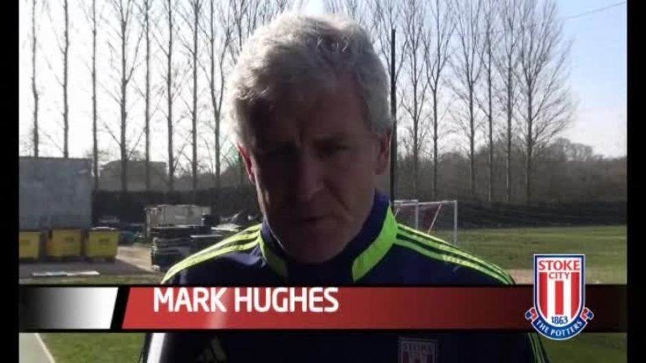 Click here to watch the Hughes On West Ham video