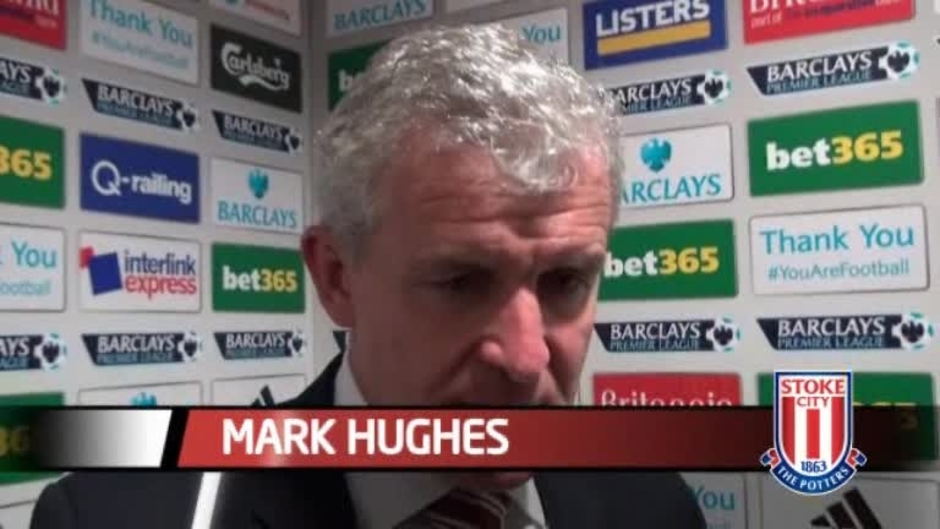 Click here to watch the Hughes Proud Of Fulham Win video