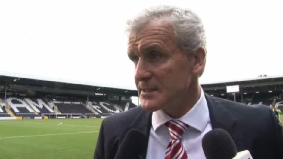 Click here to watch the Hughes' Fulham Reaction video