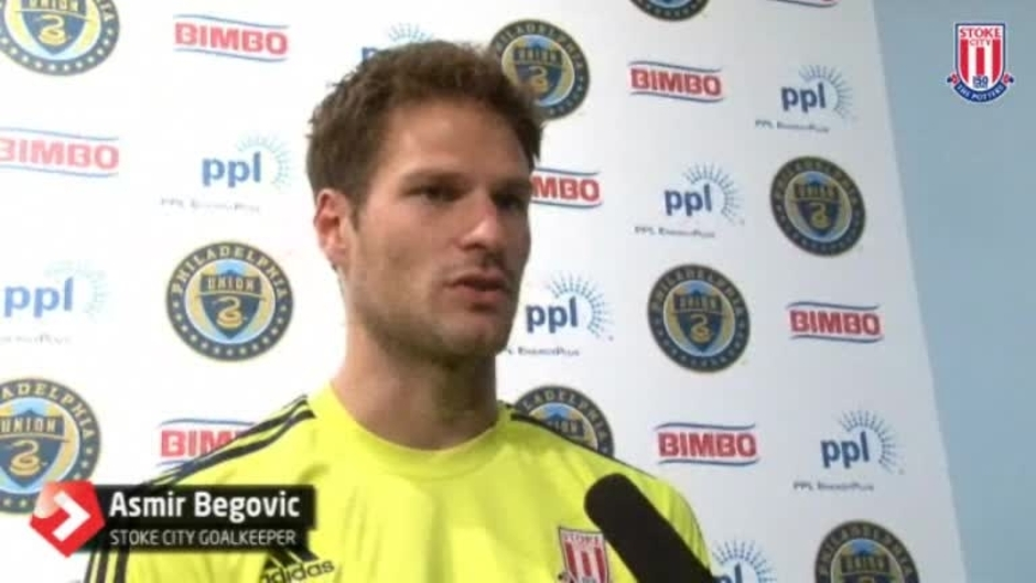 Click here to watch the Begovic On USA Tour video