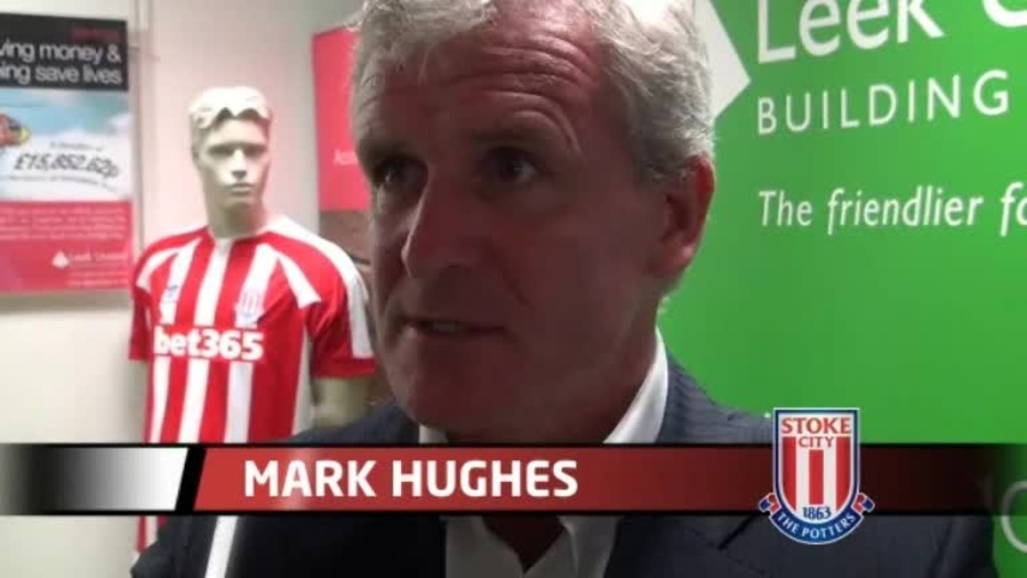 Click here to watch the Hughes Eager For Pre-Season video