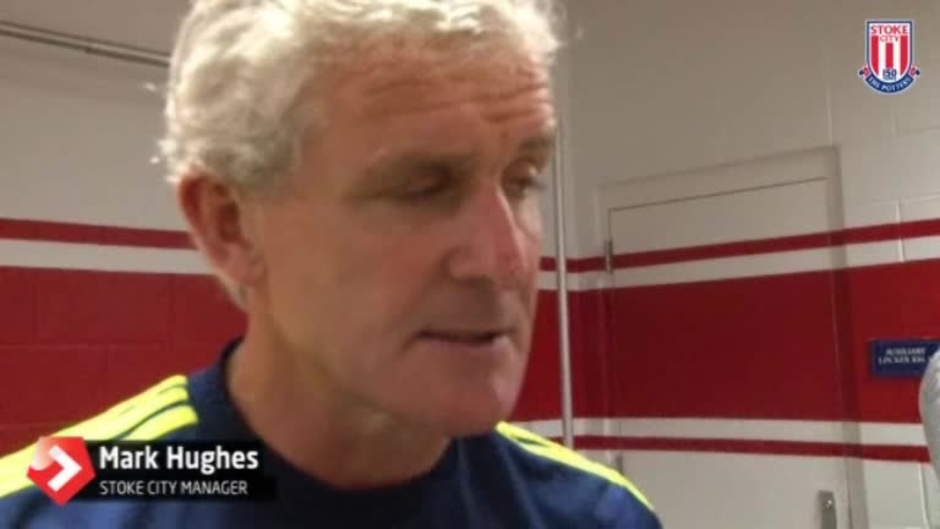 Click here to watch the Hughes Pleased With Showing video