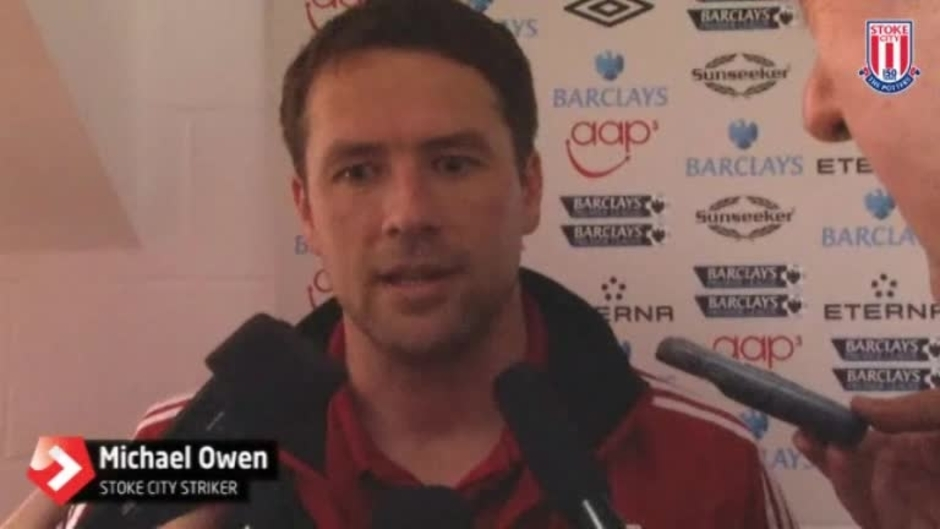 Click here to watch the Michael Owen Bows Out video