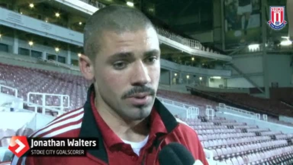 Click here to watch the Walters Happy With A Point video