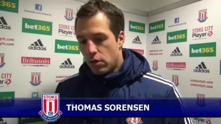 Click here to watch the Sorensen On Cup Defeat video