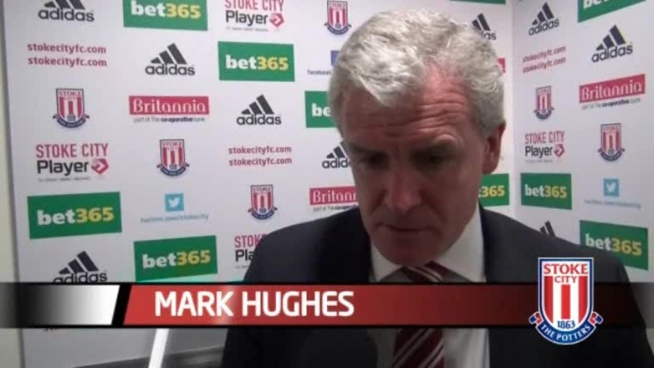 Click here to watch the Newcastle Win Delights Hughes video
