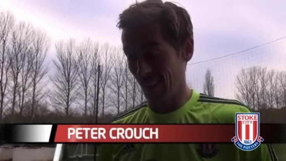 Click here to watch the Crouch Looking Forward To Saints Test video