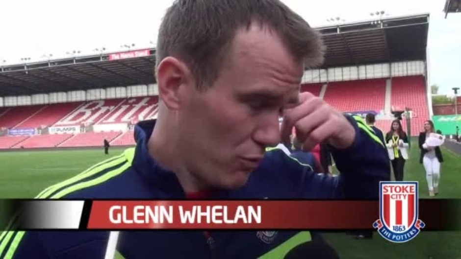 Click here to watch the Whelan Delighted With Potters video