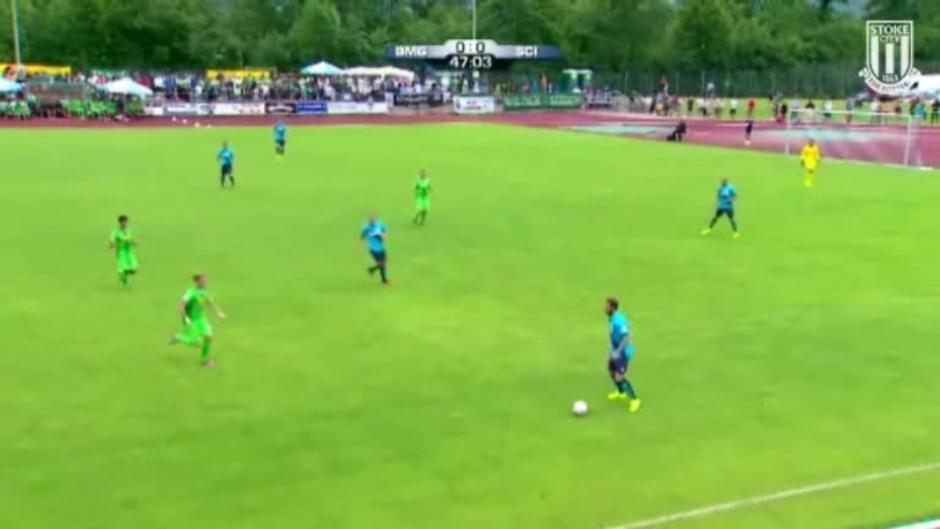 Click here to watch the Borussia Monchengladbach 1 Stoke City 1 video