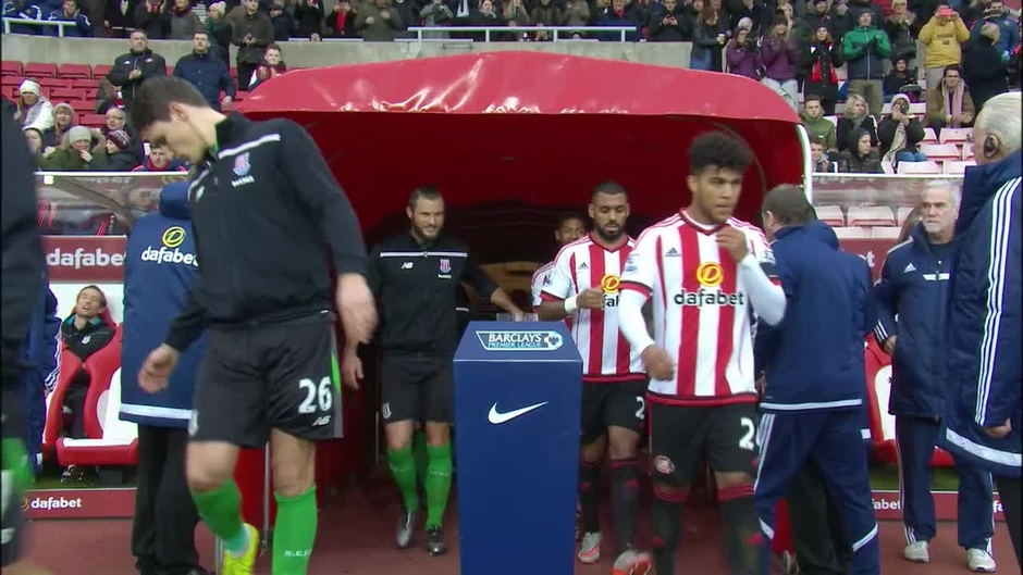 Click here to watch the Sunderland v Stoke highlights video