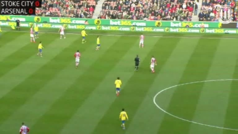 Click here to watch the Full 90: Stoke City 1-0 Arsenal (2nd Half) video