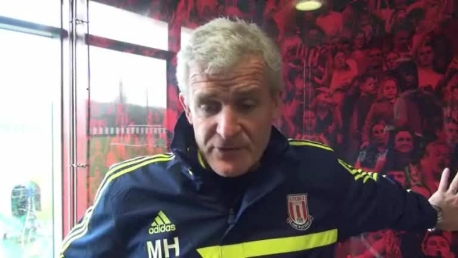 Click here to watch the Hughes Looking To Bring Some FA Cup Magic video