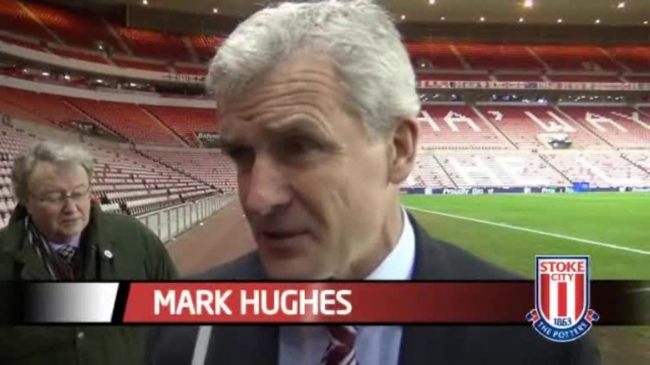 Click here to watch the Hughes On Sunderland Defeat video