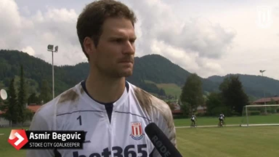 Click here to watch the Asmir Eager Upon His Return video