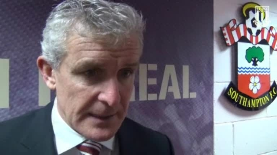 Click here to watch the Hughes On Saints Draw video