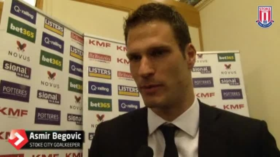 Click here to watch the Player Of The Year - Asmir Begovic video