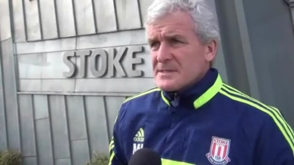Click here to watch the Hughes Relishing Manchester City Test video