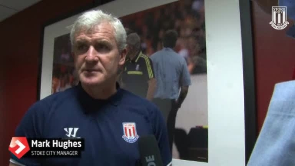 Click here to watch the Hughes Prepares For Etihad Visit video