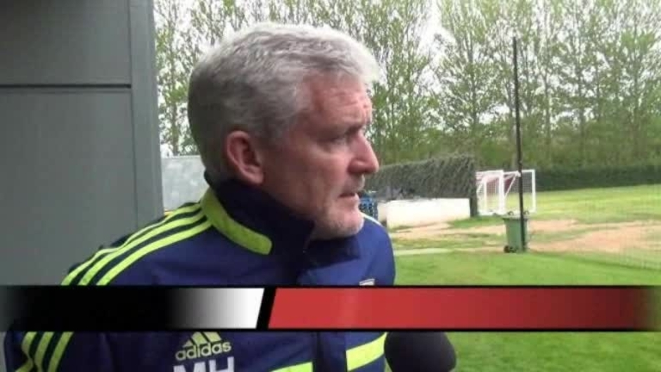 Click here to watch the Hughes On Spurs Clash video