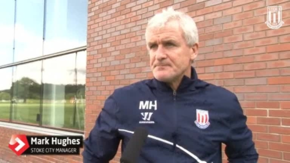 Click here to watch the Hughes Excited For Season's Start video