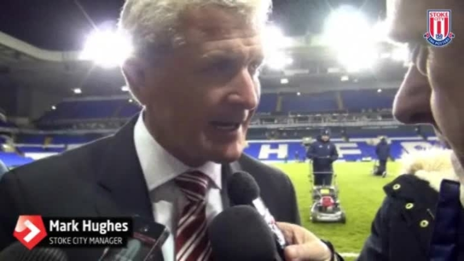 Click here to watch the Hughes Reacts To Spurs Defeat video